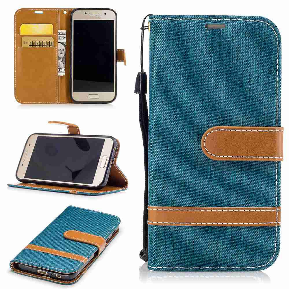 Trendy Mix color Jeans Phone Case for Samsung Galaxy S7