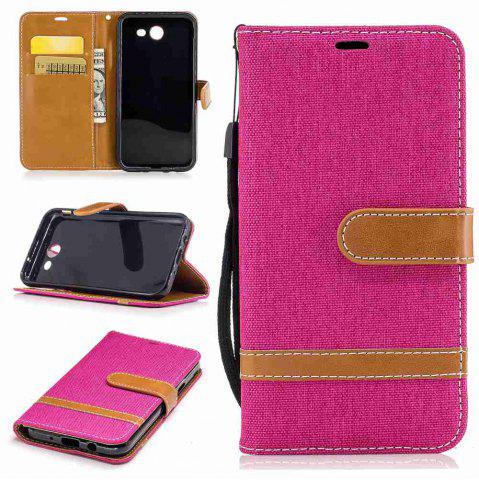 Fancy Mix color Jeans Phone Case for Samsung Galaxy J3 2017 / PRrime / Emerge