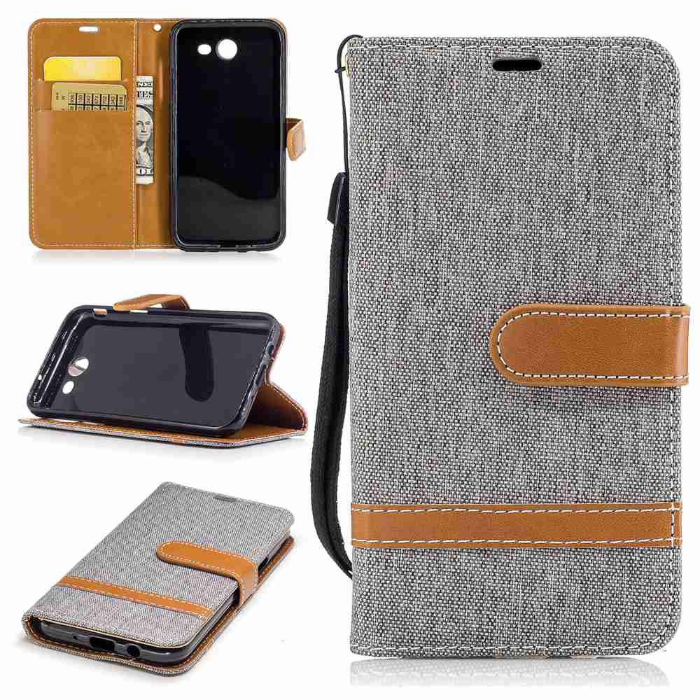 Best Mix color Jeans Phone Case for Samsung Galaxy J3 2017 / PRrime / Emerge