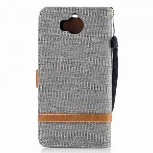 Mix Color Jeans Phone Case for Huawei Y5 2017 -