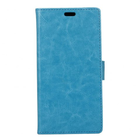 Unique Wkae Crystal Grain Texture Synthetic Leather Stand Case with Kickstand and Card Slots for LG Q8 / V20 Mini
