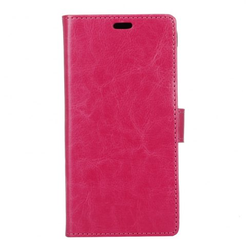 Fashion Wkae Crystal Grain Texture Synthetic Leather Stand Case with Kickstand and Card Slots for LG Q8 / V20 Mini