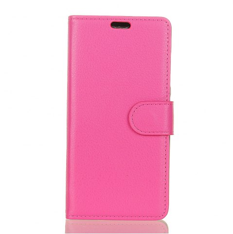 Online Wkae Litchi Texture PU Leather Folio Stand Wallet Case Cover with Card Slots for Google PIXEL 2
