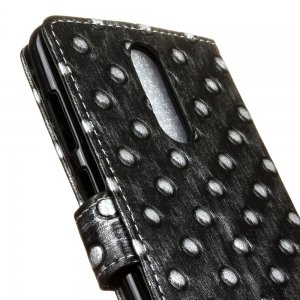 3D Texture Heavy Metal Style Flip PU Leather Wallet Case for ZTE Grand X4 -