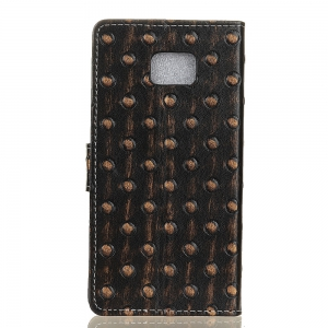 3D Texture Heavy Metal Style Flip PU Leather Wallet Case for ASUS Zenfone 4V 5.2 inch (V520KL) -