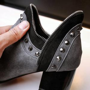 Women's Ankle Boots Chic Style Street Fashion Boots -