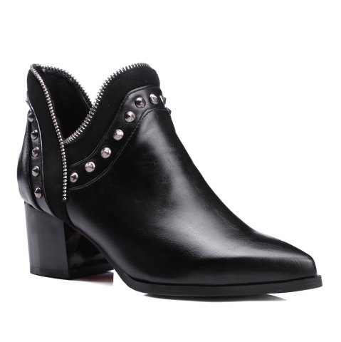 Unique Women's Ankle Boots Chic Style Street Fashion Boots