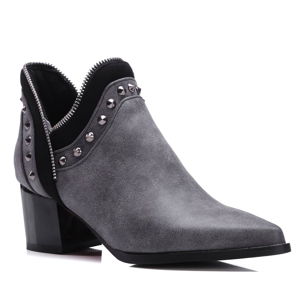 Fashion Women's Ankle Boots Chic Style Street Fashion Boots