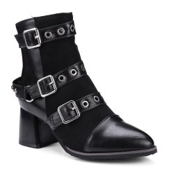 Women's Ankle Boots Hasp Decor Boots -