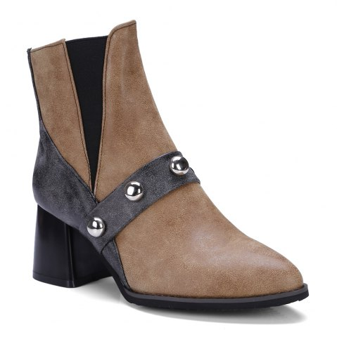Unique Women's Ankle Boots Comfy All Match Breathable Boots