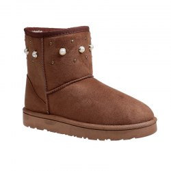The Winter Snow Boots With Thick Velvet Flat Comfortable Warm Boots Women Shoes - BROWN 39