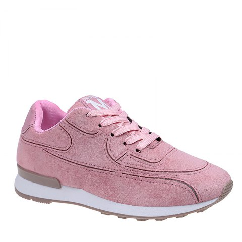 Sale The Thick Bottom Muffin Bottom Increased Scrub Fashion Casual Shoes - 39 PINK Mobile