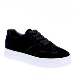 The Fall Of The New Flat Lace Up Shoes -