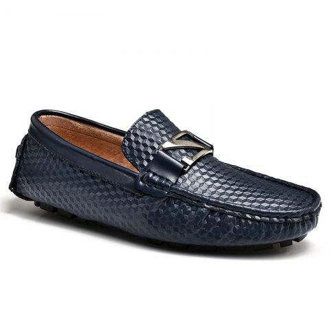Outfits Doug Shoes Men'S Driving Shoes Nightclub Flats Comfortable Soft Soled Shoes - 41 BLUE Mobile