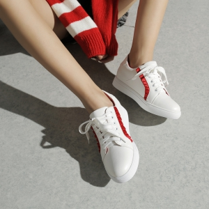 Women's Sneakers Color Block Breathable Sports Trendy All Match Shoes -