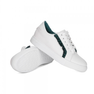 Femmes Sneakers Color Block respirant Sports Trendy All Match Chaussures -