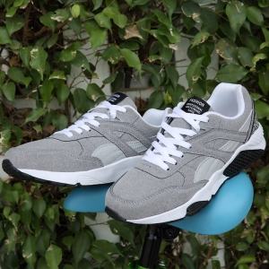 Men Casual Shoes  leisure Sports Shoes Fashion Sneakers - GRAY 39