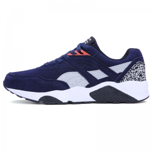 Men Casual Shoes  leisure Sports Shoes Fashion Sneakers - ESTATE BLUE 41