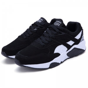 Men Casual Shoes  leisure Sports Shoes Fashion Sneakers - BLACK 41