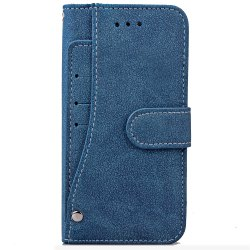 YC Rotate the Card Lanyard Pu Leather for iPhone 6S 5.5 -