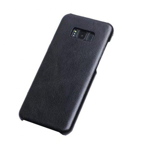 Best Wkae Genuine Leather Durable Back Cover Retro Frosted Shell Case For Samsung Galaxy S8 Plus