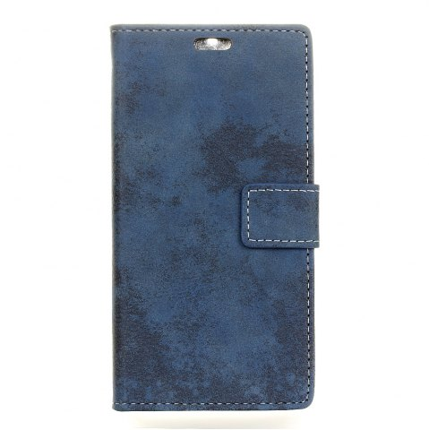 Affordable Durable Retro Style Solid Color Flip PU Leather Wallet Case for Nokia 8