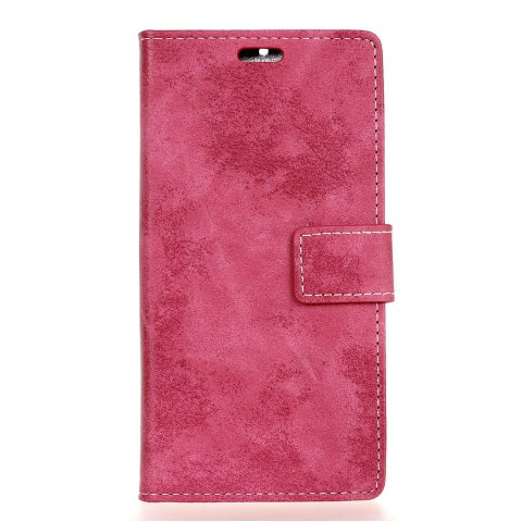 Shops Durable Retro Style Solid Color Flip PU Leather Wallet Case for Nokia 8