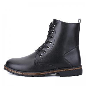 Men's Casual England Ankle Boots - BLACK 41