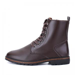 Men's Casual England Ankle Boots - BROWN 44