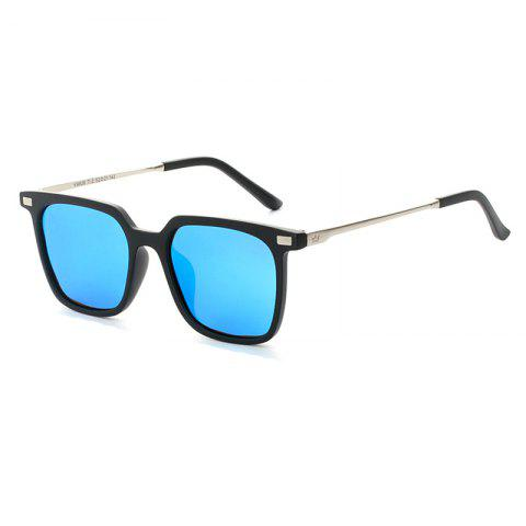 Shop TOMYE 9926 2017 New PC Metal Square Fashion Polarized Sunglasses for Men and Women