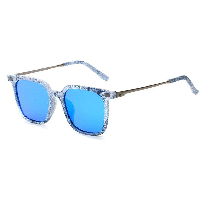 Online TOMYE 9926 2017 New PC Metal Square Fashion Polarized Sunglasses for Men and Women