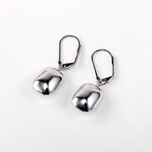 Ouxi Sterling Silver White Crystal Hanging Earrings for Woman girl - SILVER AND BLUE