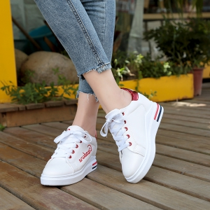 Autumn New White Shoes Women's Bottom Sports Shoes - AMERICAN BEAUTY 39