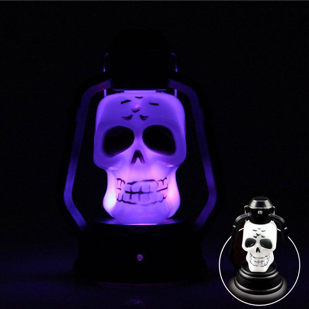 Cheap YWXLight Skull Pattern Halloween Festival Props LED Flash Lantern Night Light
