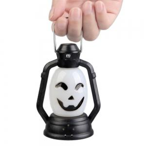 YWXLight Skull Grimace Ghost Witch Pumpkin Halloween Festival Props LED Flash Lantern Night Light -