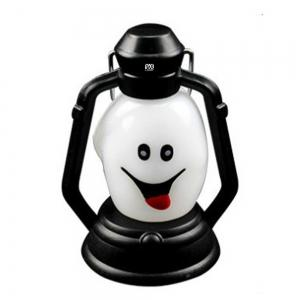 YWXLight Skull Grimace Ghost Witch Pumpkin Halloween Festival Props LED Flash Lantern Night Light Lamp -