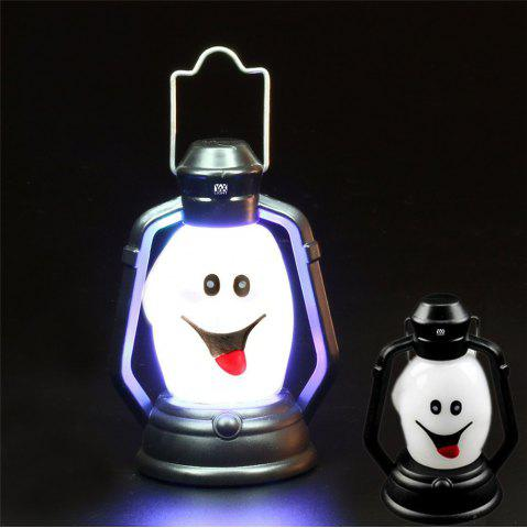 YWXLight Skull Grimace Ghost Witch Pumpkin Halloween Festival Props LED Flash Lantern Night Light Lamp