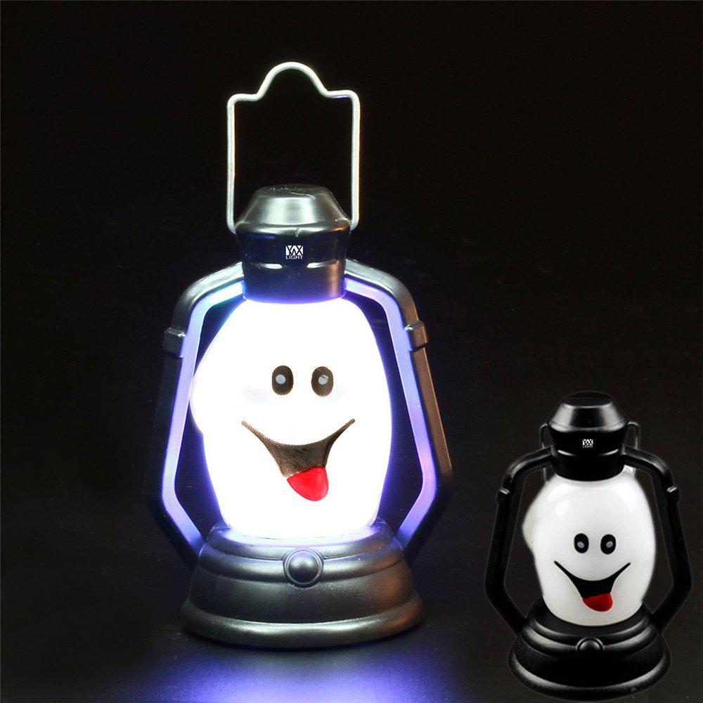 Chic YWXLight Skull Grimace Ghost Witch Pumpkin Halloween Festival Props LED Flash Lantern Night Light Lamp