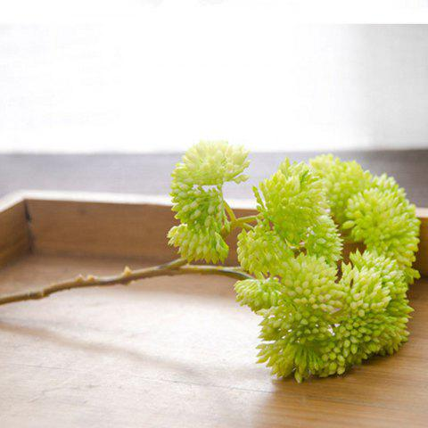 Latest 1 Branch Simulation Berry Home Decoration Artificial Flower - GREEN  Mobile