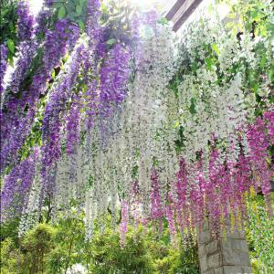 12 Branch Wisteria Wedding Decorate Home Decorate Artificial Flower 105CM -