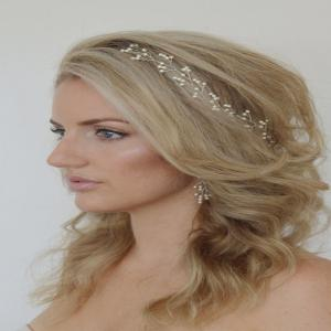Retro Family Name Wind Bride Headdress Hairpin Ladies Pearl Alloy -