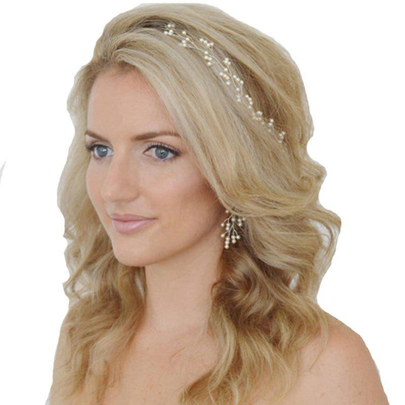 Buy Retro Family Name Wind Bride Headdress Hairpin Ladies Pearl Alloy