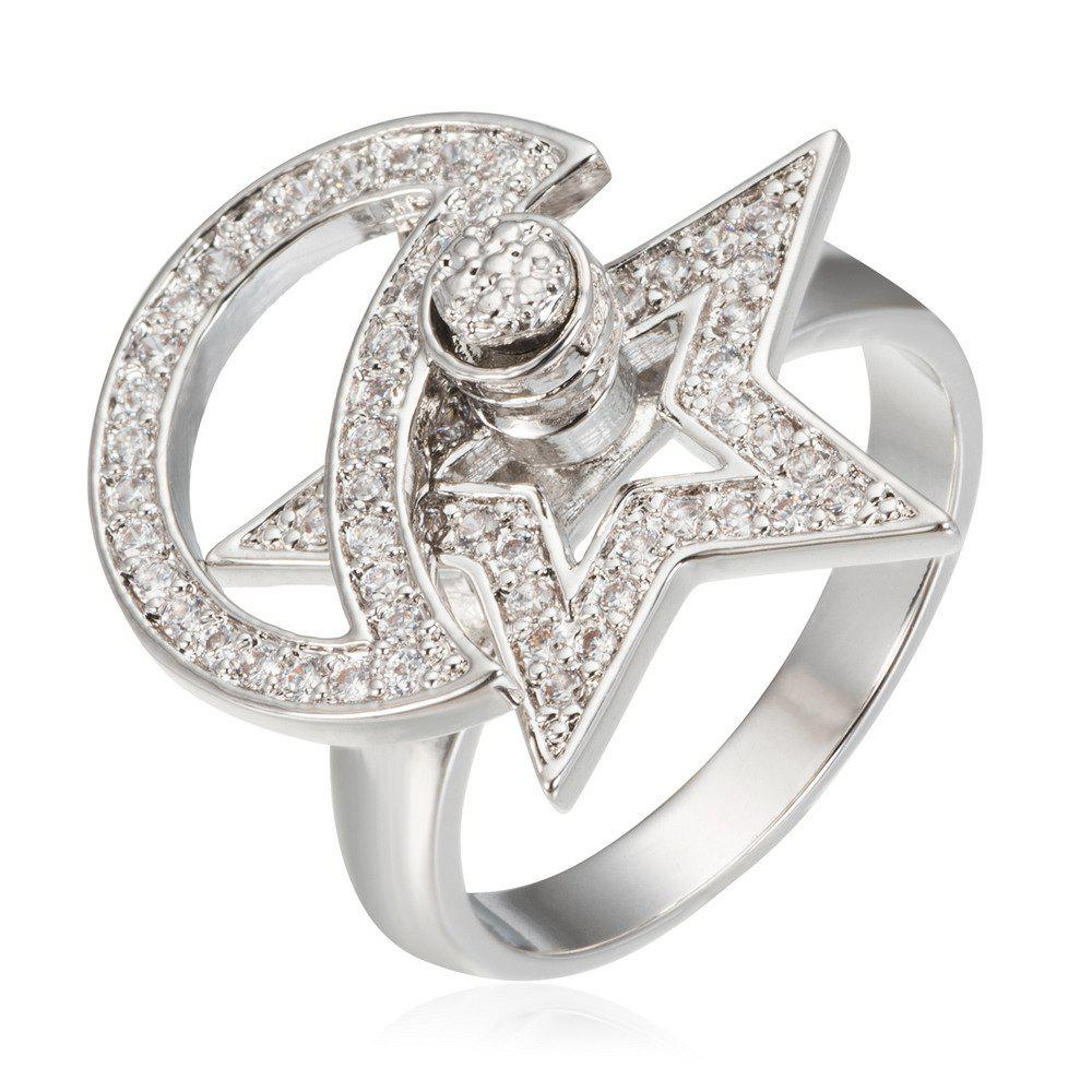 New Copper Rehinestone Star Ring
