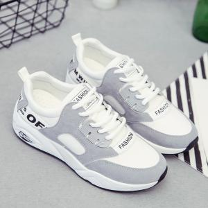 Sports Shoes Female Students Shoes  Casual Shoes Thick Bottom Running Shoes -