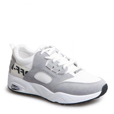 Online Sports Shoes Female Students Shoes  Casual Shoes Thick Bottom Running Shoes - 36 OYSTER Mobile