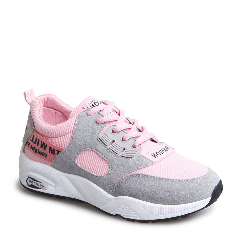 Latest Sports Shoes Female Students Shoes  Casual Shoes Thick Bottom Running Shoes