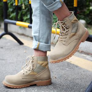 Outdoor Shoes Men'S Leisure Shoes Leather Belt with Big Head Shoe Heavy Anti-Skid -