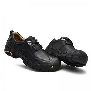 Outdoor Shoes Men'S Leisure Shoes Leather Shoes Wide Head Men'S Shoes -