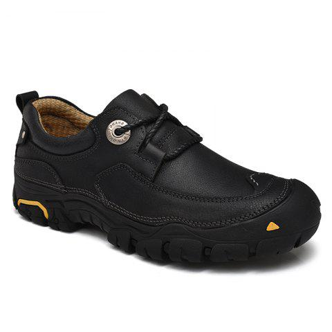 Hot Outdoor Shoes Men'S Leisure Shoes Leather Shoes Wide Head Men'S Shoes