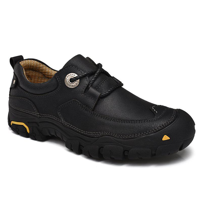 Shop Outdoor Shoes Men'S Leisure Shoes Leather Shoes Wide Head Men'S Shoes